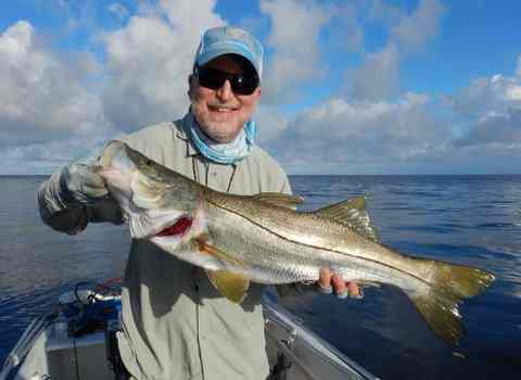 Bill Turner VA does it again – 14# snook